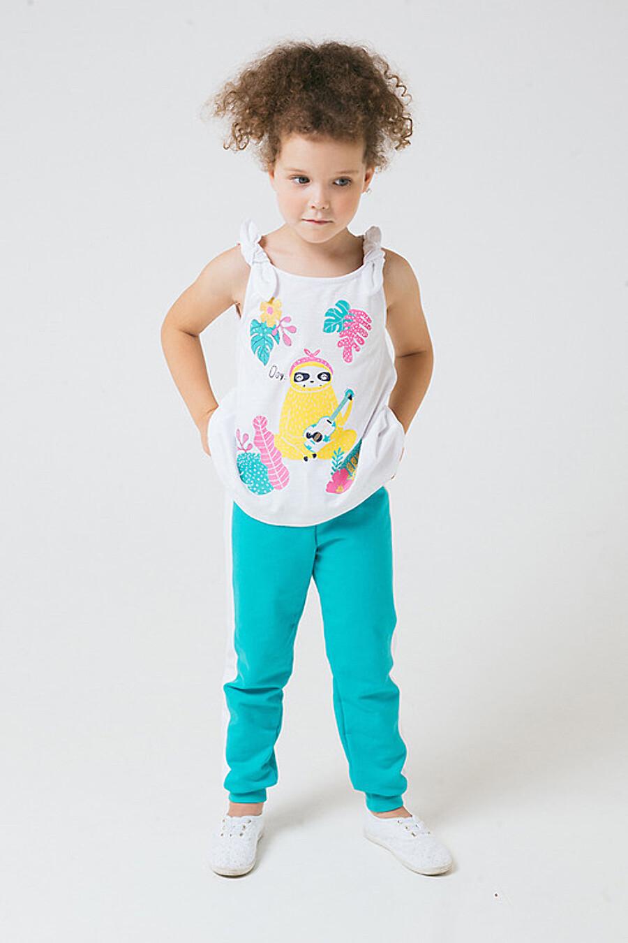 Штанишки для девочек CROCKID 180675 купить оптом от производителя. Совместная покупка детской одежды в OptMoyo