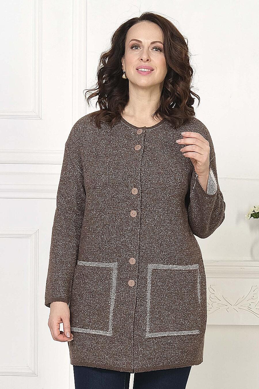 Кардиган для женщин ANKOLI 184408 купить оптом от производителя. Совместная покупка женской одежды в OptMoyo