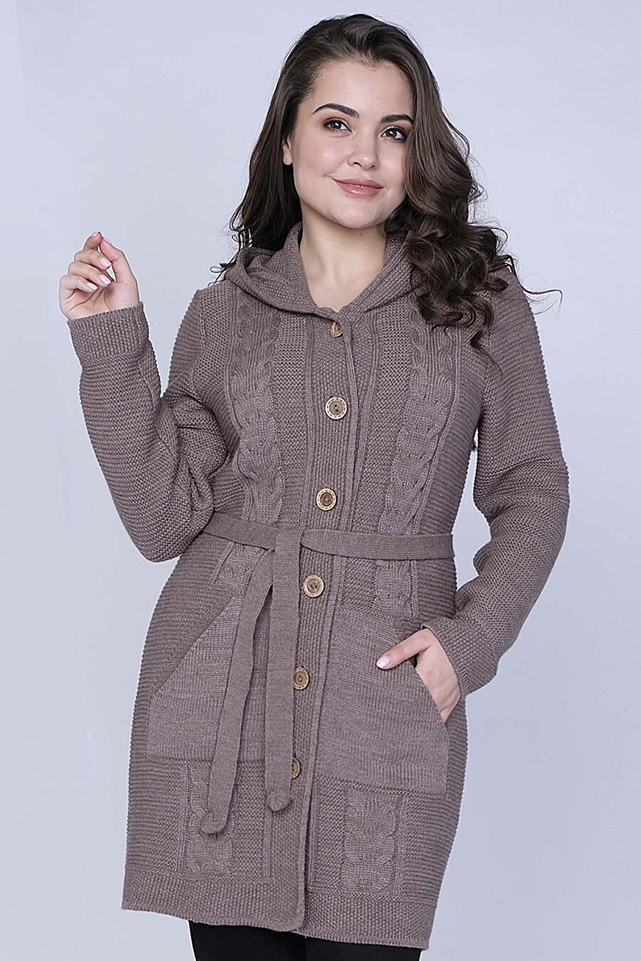 Кардиган для женщин ANKOLI 184449 купить оптом от производителя. Совместная покупка женской одежды в OptMoyo