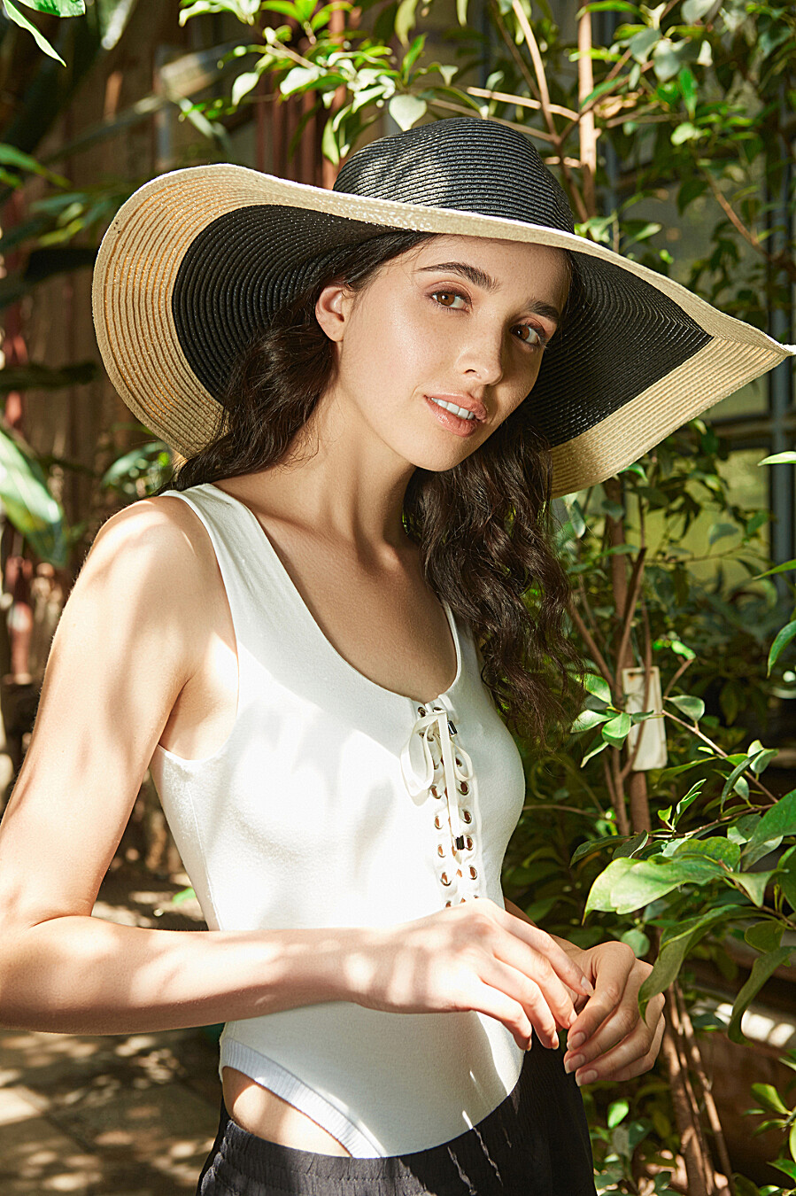 Плетеная шляпа Шоппинг на Багамах с мягкими полями Nothing But Love (204935), купить в Moyo.moda