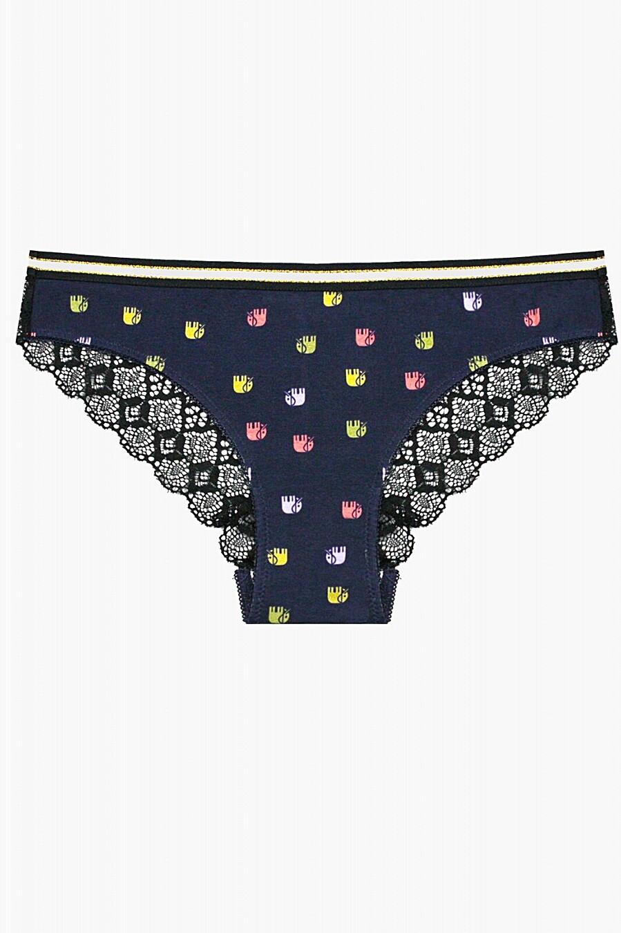Трусы для женщин INDEFINI 205115 купить оптом от производителя. Совместная покупка женской одежды в OptMoyo