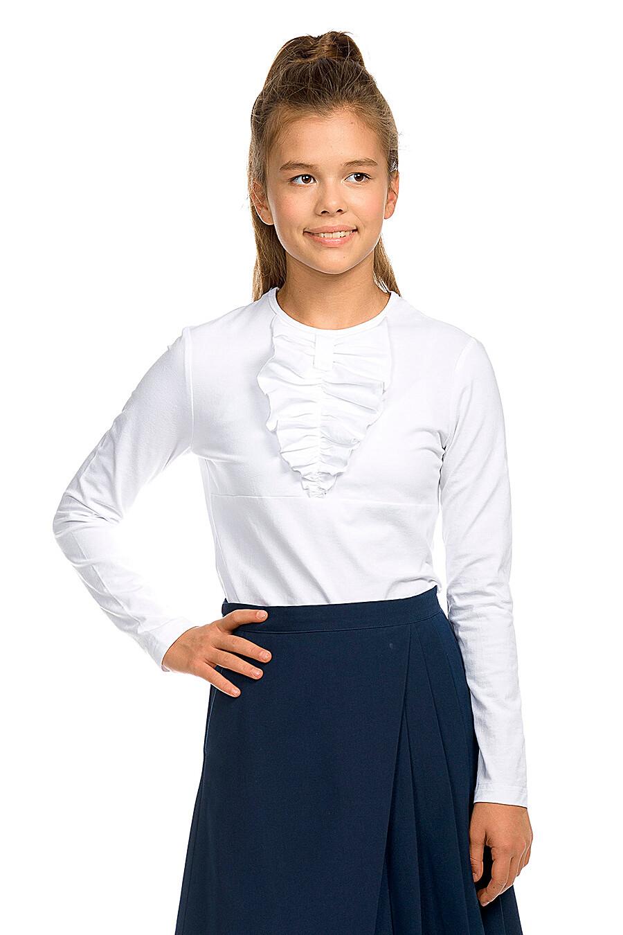 Блузка для девочек PELICAN 218538 купить оптом от производителя. Совместная покупка детской одежды в OptMoyo