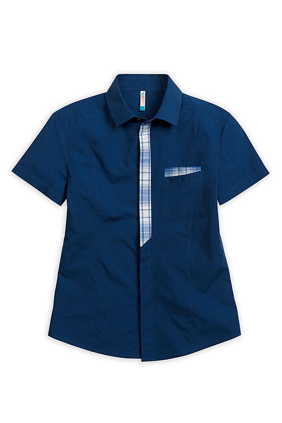 Сорочка для мальчиков PELICAN 218553 купить оптом от производителя. Совместная покупка детской одежды в OptMoyo