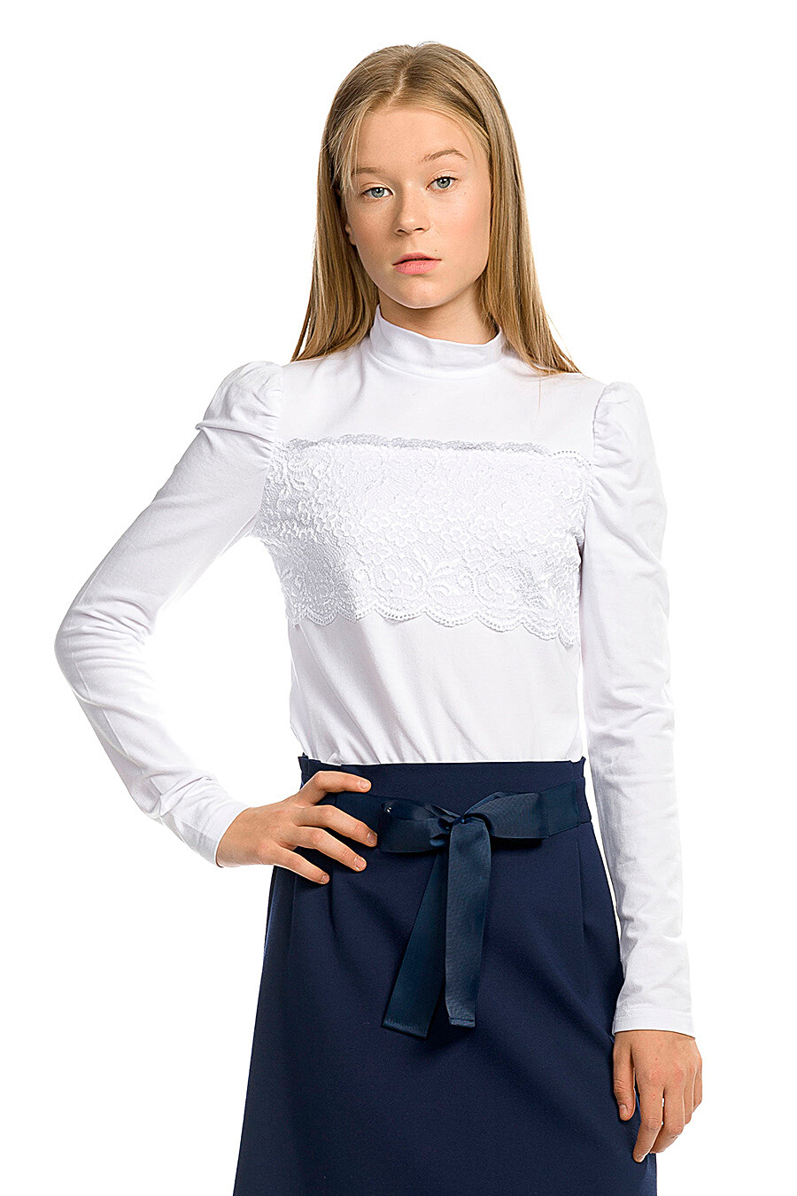 Водолазка для девочек PELICAN 218592 купить оптом от производителя. Совместная покупка детской одежды в OptMoyo