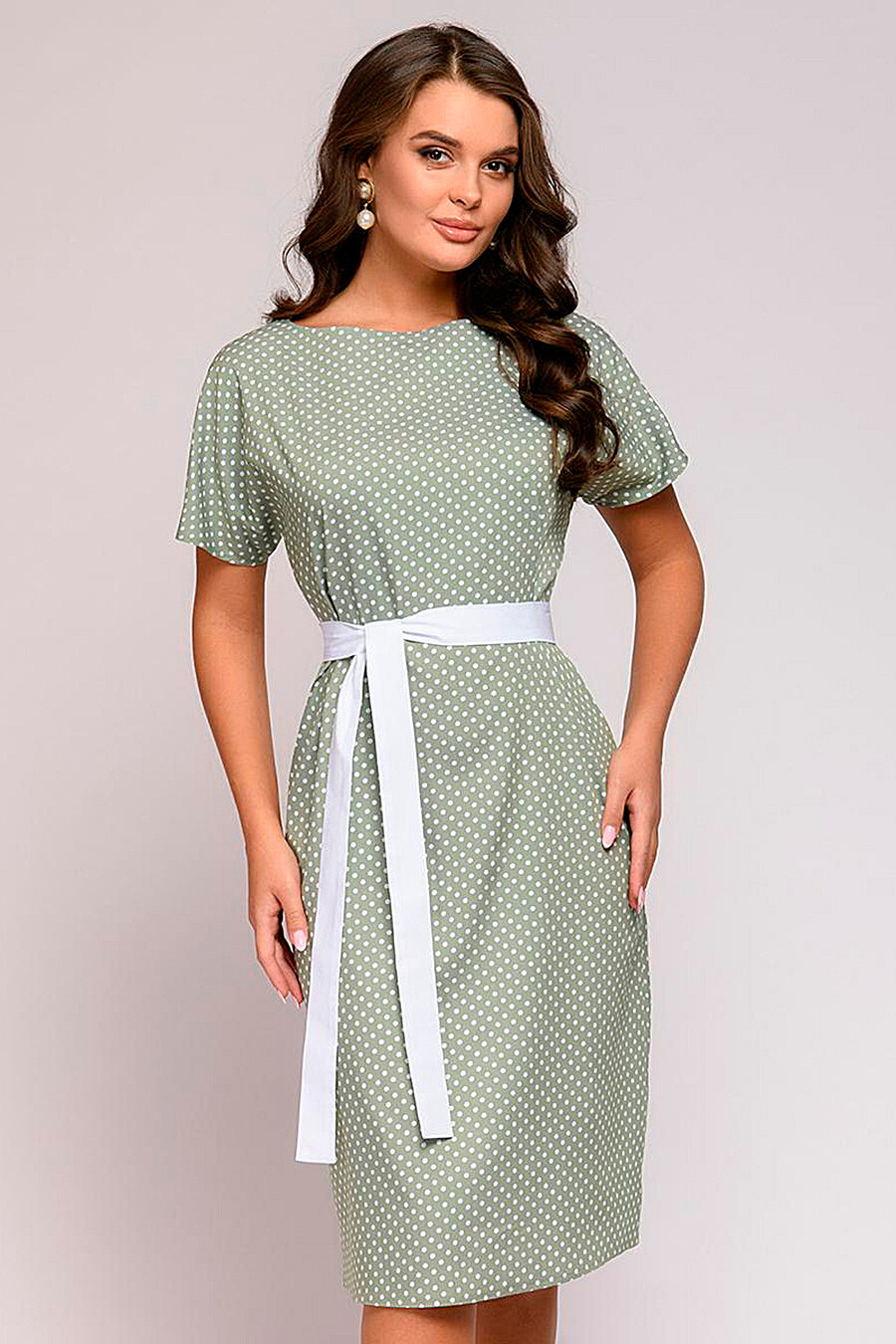 Платье для женщин 1001 DRESS 219918 купить оптом от производителя. Совместная покупка женской одежды в OptMoyo
