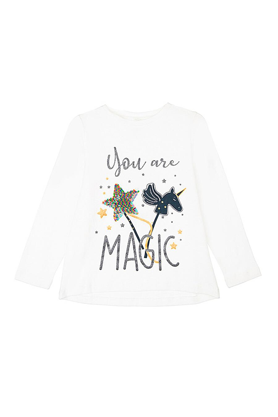 Лонгслив для девочек PLAYTODAY 239439 купить оптом от производителя. Совместная покупка детской одежды в OptMoyo