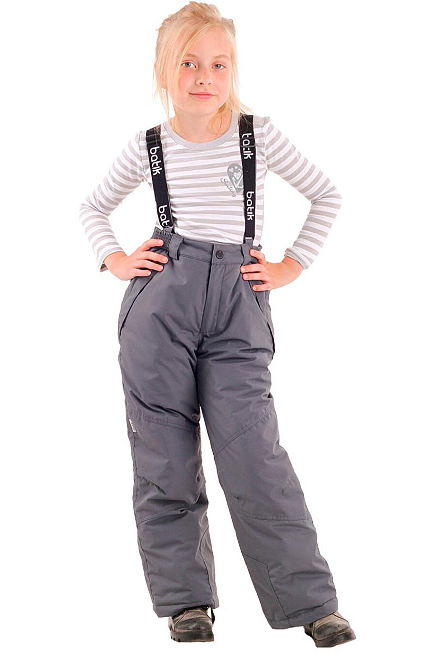 Брюки для девочек BATIK 247179 купить оптом от производителя. Совместная покупка детской одежды в OptMoyo