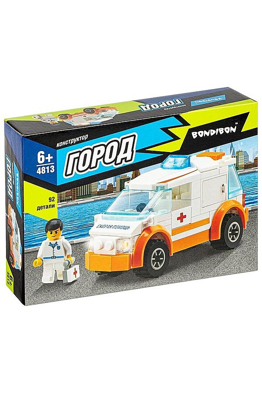 Конструктор для детей BONDIBON 260367 купить оптом от производителя. Совместная покупка игрушек в OptMoyo