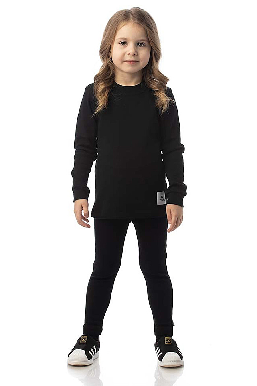 Костюм(Свитшот+Брюки) для девочек BODO 272784 купить оптом от производителя. Совместная покупка детской одежды в OptMoyo