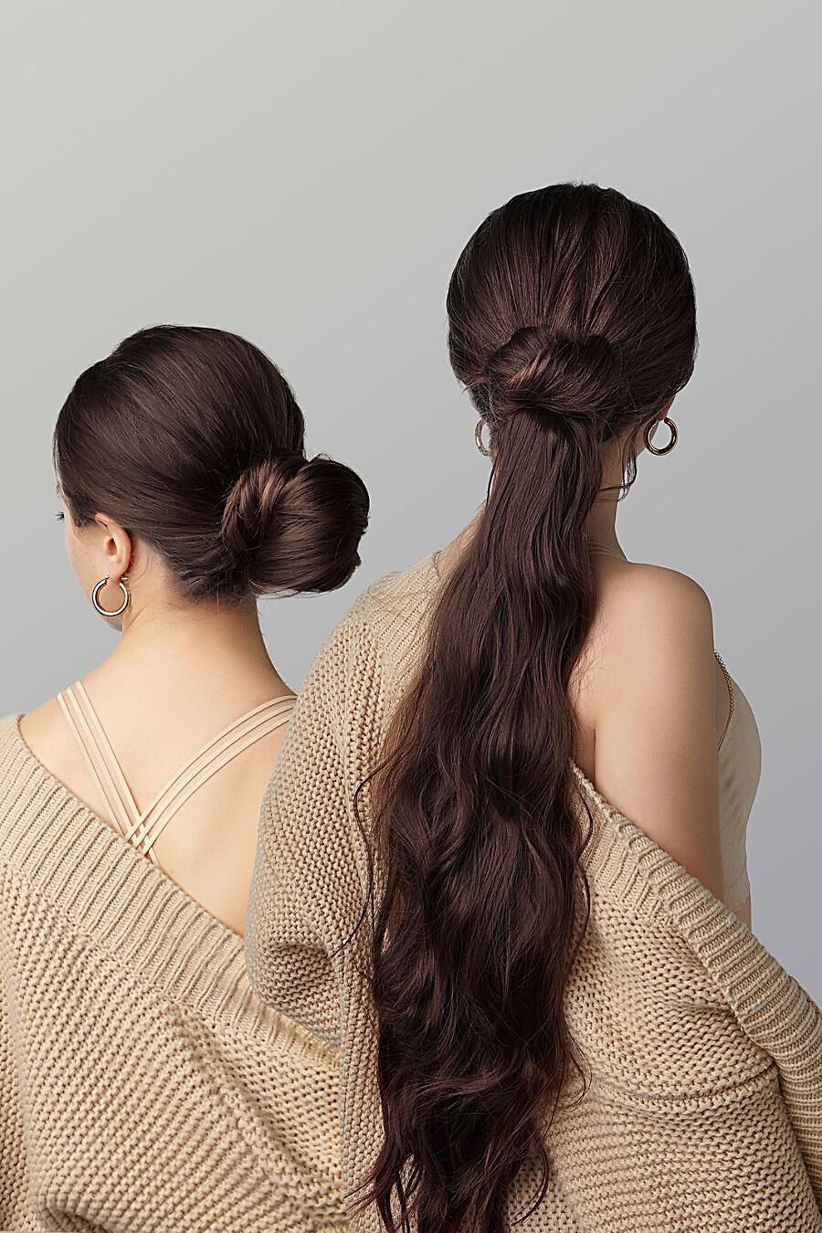 """Накладной хвост шиньон накладные волосы длинный шиньон шиньон с заколкой """"Нимфа"""" Nothing But Love (272814), купить в Moyo.moda"""