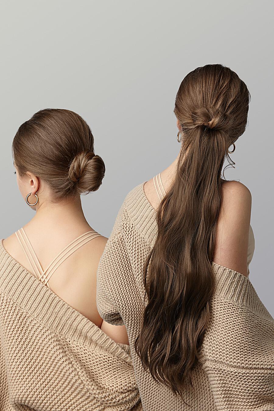 """Накладной хвост шиньон накладные волосы длинный шиньон шиньон с заколкой """"Нимфа"""" Nothing But Love (272823), купить в Moyo.moda"""