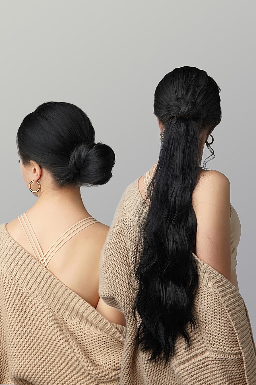"""Накладной хвост шиньон накладные волосы длинный шиньон шиньон с заколкой """"Нимфа"""" Nothing But Love (272826), купить в Moyo.moda"""