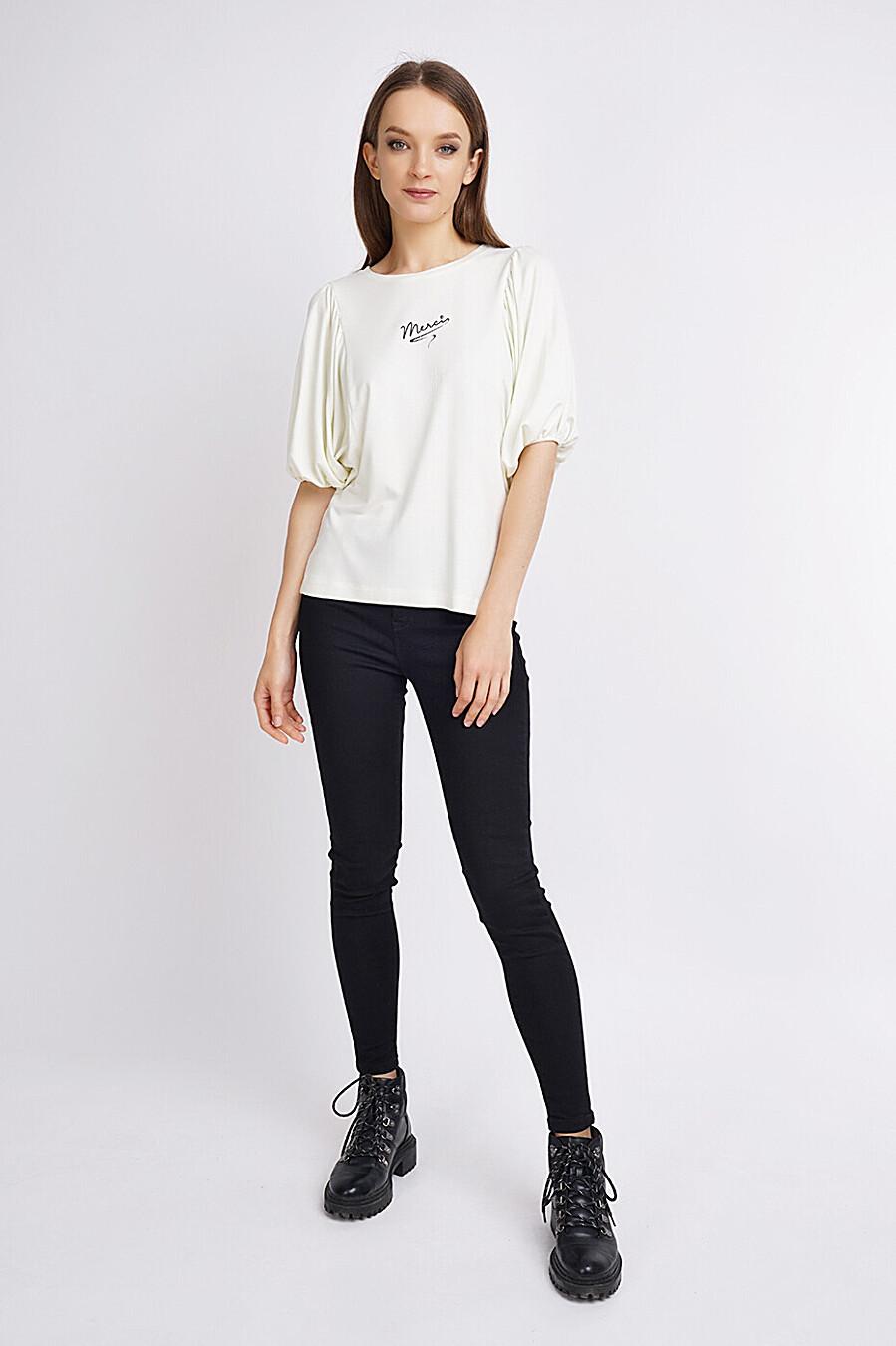 Джемпер для женщин CLEVER 272874 купить оптом от производителя. Совместная покупка женской одежды в OptMoyo