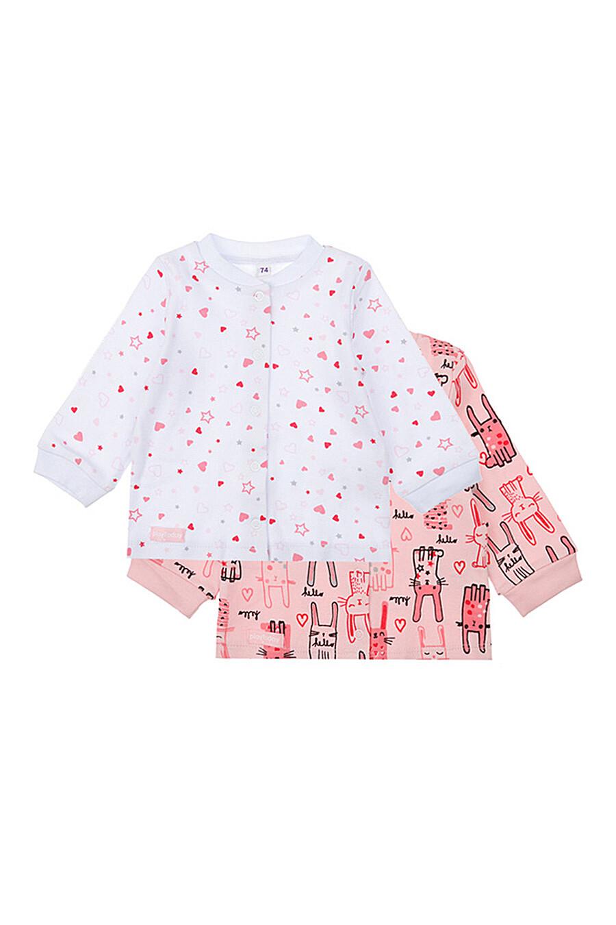 Кофта 2 шт. для девочек PLAYTODAY 289500 купить оптом от производителя. Совместная покупка детской одежды в OptMoyo
