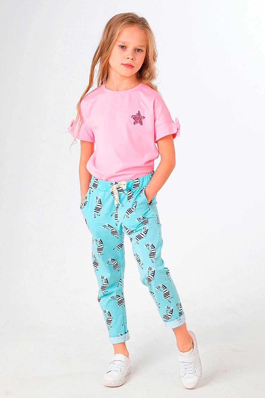 Брюки для девочек UMKA 321810 купить оптом от производителя. Совместная покупка детской одежды в OptMoyo