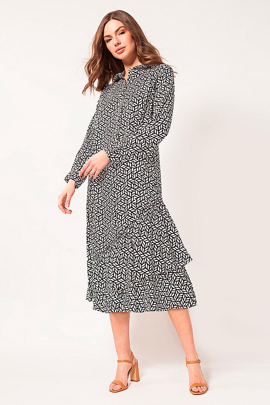 Платье для женщин VILATTE 334890 купить оптом от производителя. Совместная покупка женской одежды в OptMoyo