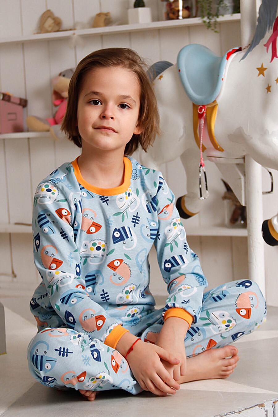 """""""Игуанчик Гоша"""" - детская пижама ДЕТСКИЙ ТРИКОТАЖ 37 (648075), купить в Moyo.moda"""