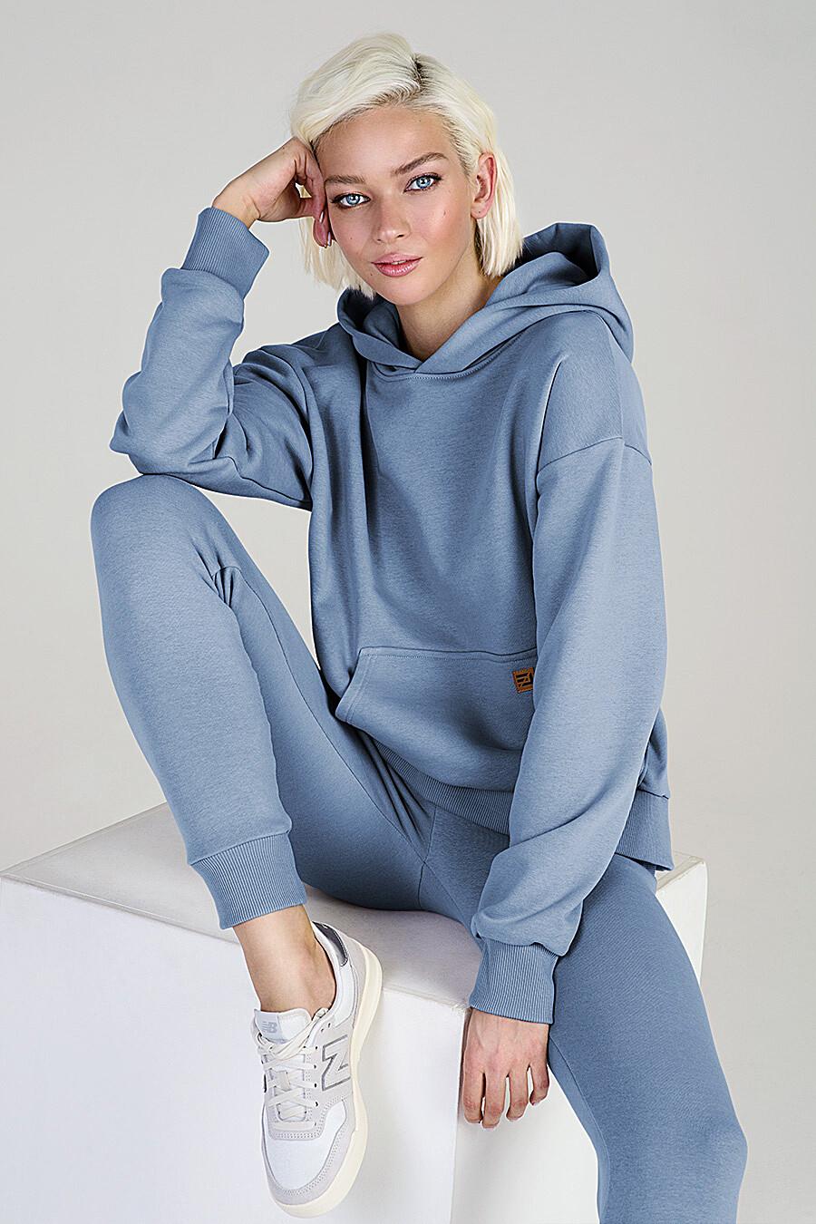 Худи для женщин EZANNA 649191 купить оптом от производителя. Совместная покупка женской одежды в OptMoyo
