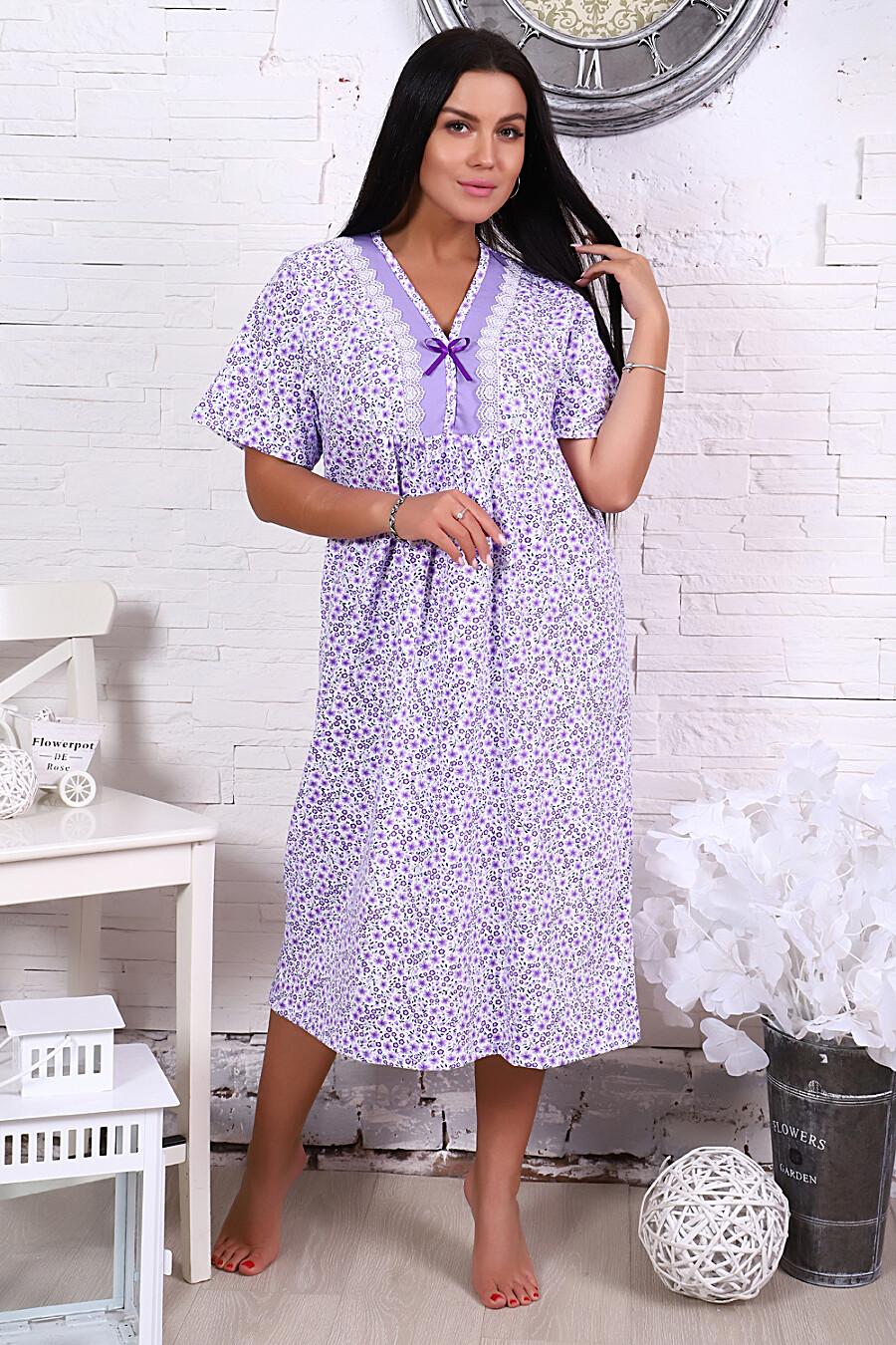 Сорочка 15525 для женщин НАТАЛИ 649338 купить оптом от производителя. Совместная покупка женской одежды в OptMoyo