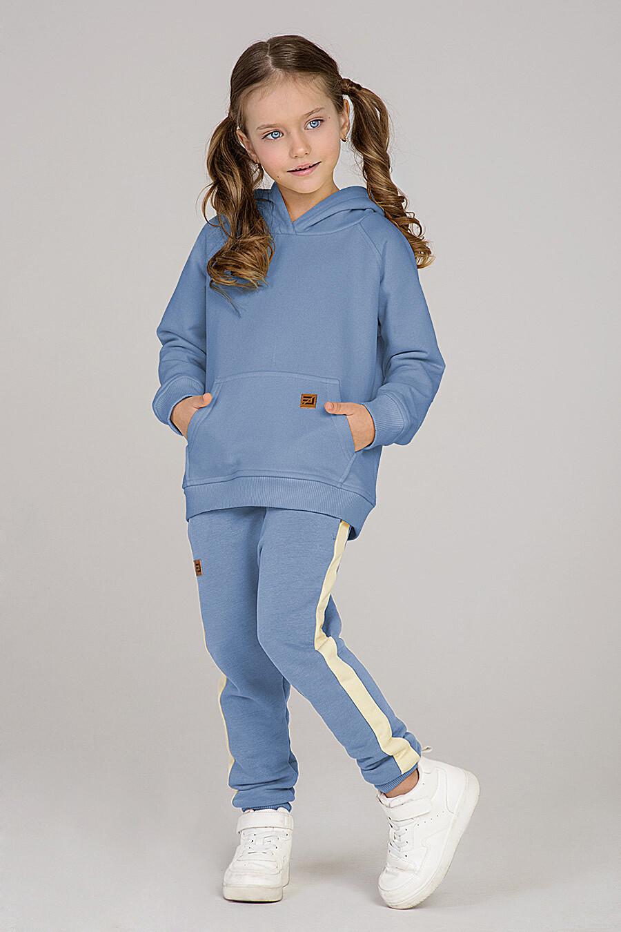 Худи для девочек EZANNA 649362 купить оптом от производителя. Совместная покупка детской одежды в OptMoyo