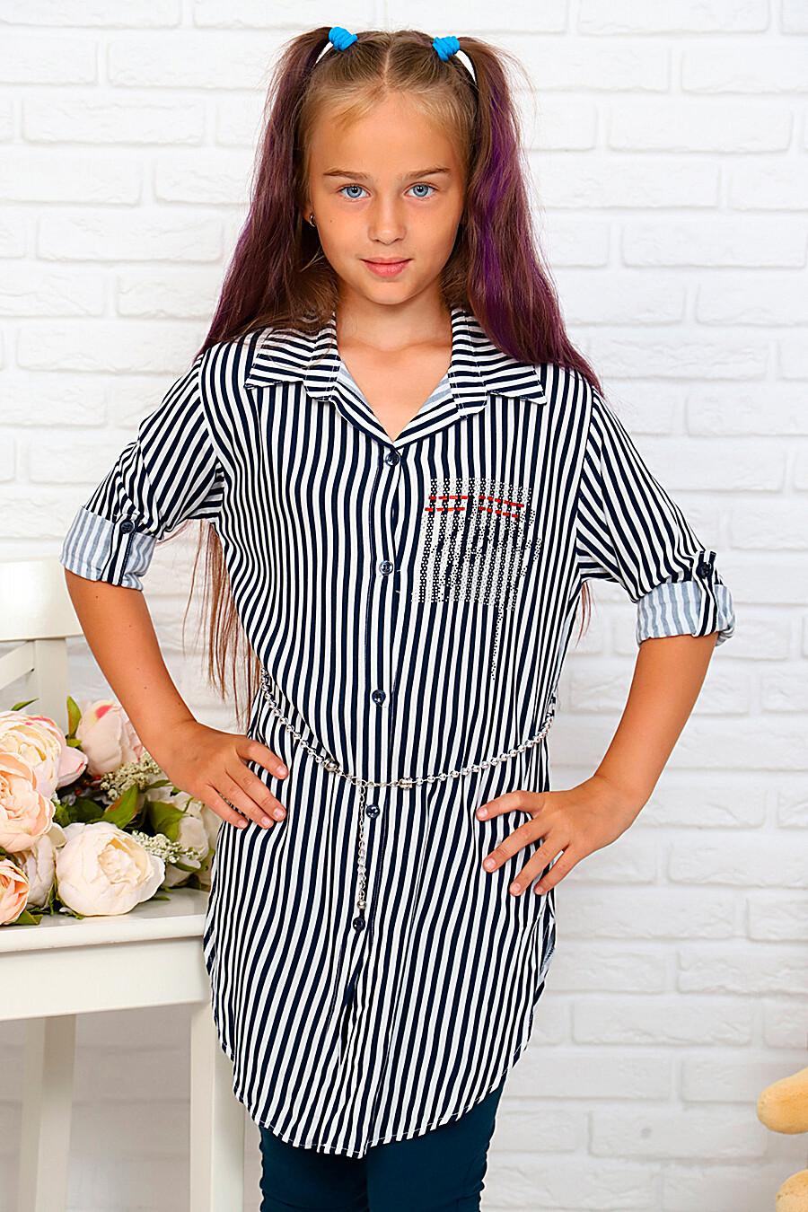 Туника-рубашка для девочек SOFIYA37 667884 купить оптом от производителя. Совместная покупка детской одежды в OptMoyo