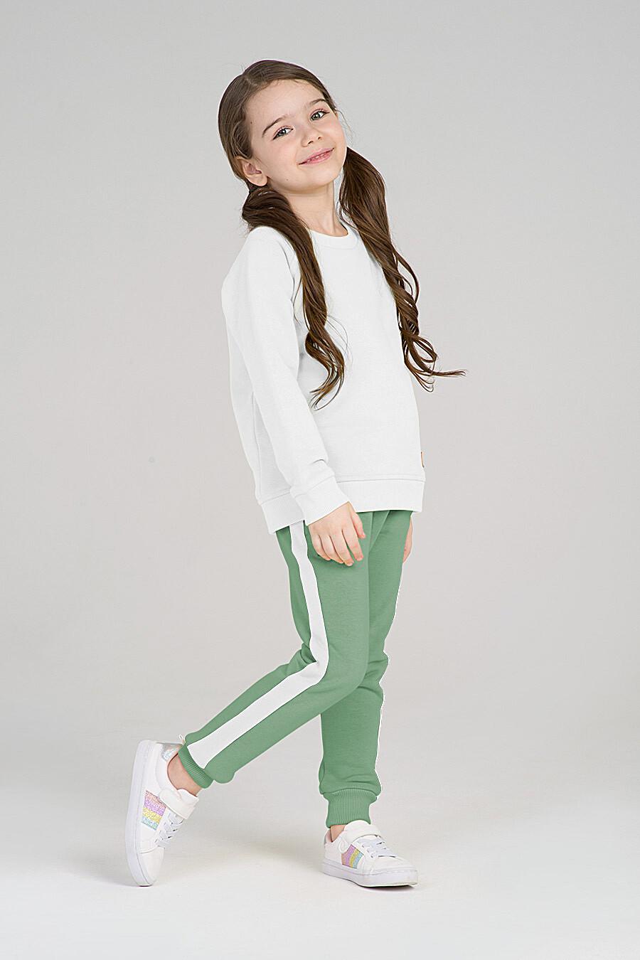 Свитшот для девочек EZANNA 668007 купить оптом от производителя. Совместная покупка детской одежды в OptMoyo