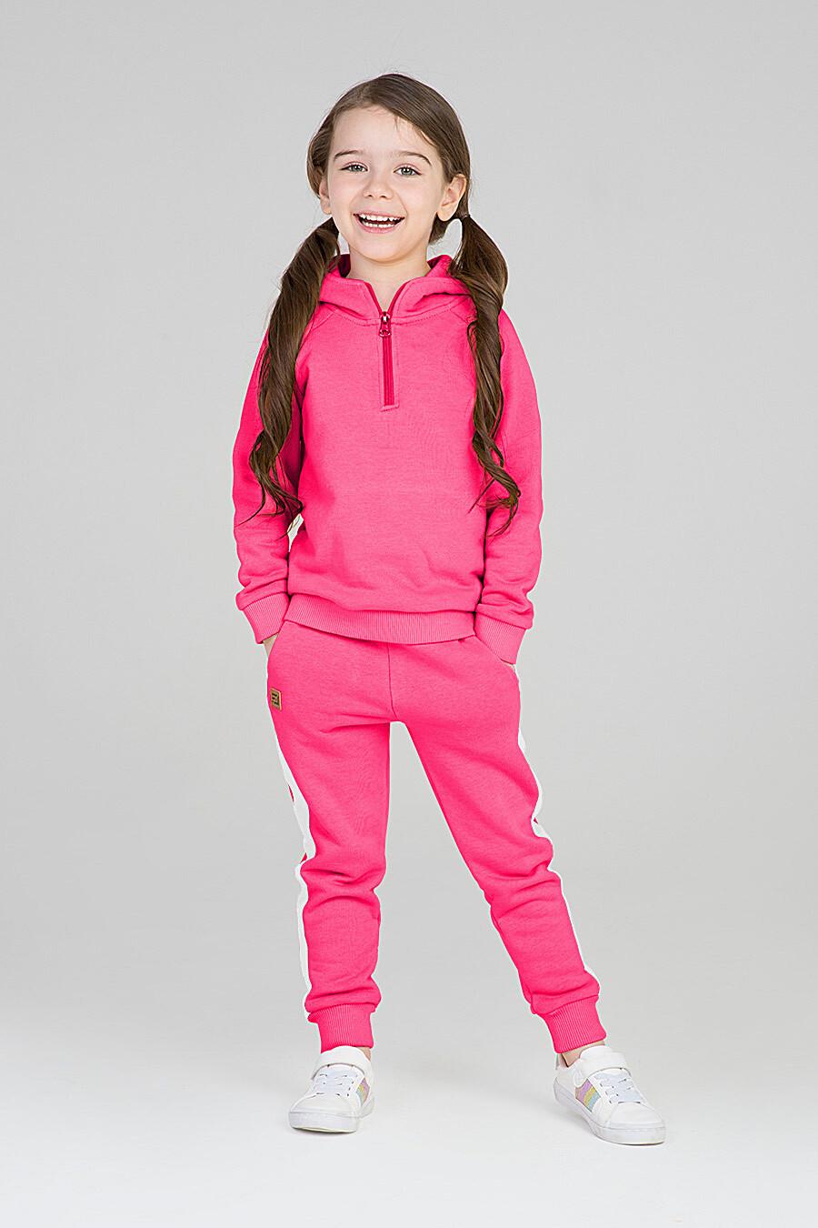 Худи для девочек EZANNA 668046 купить оптом от производителя. Совместная покупка детской одежды в OptMoyo