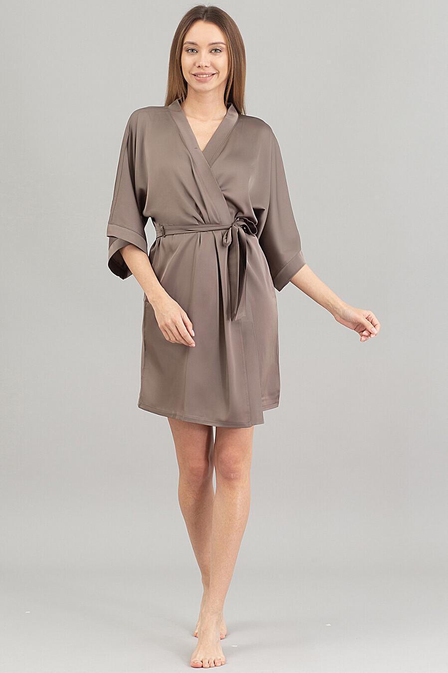 Халат для женщин GIULIA 668076 купить оптом от производителя. Совместная покупка женской одежды в OptMoyo