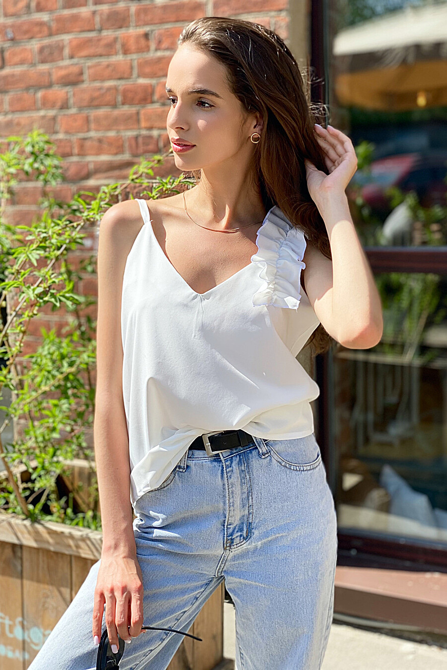 Майка 13627 для женщин НАТАЛИ 668151 купить оптом от производителя. Совместная покупка женской одежды в OptMoyo