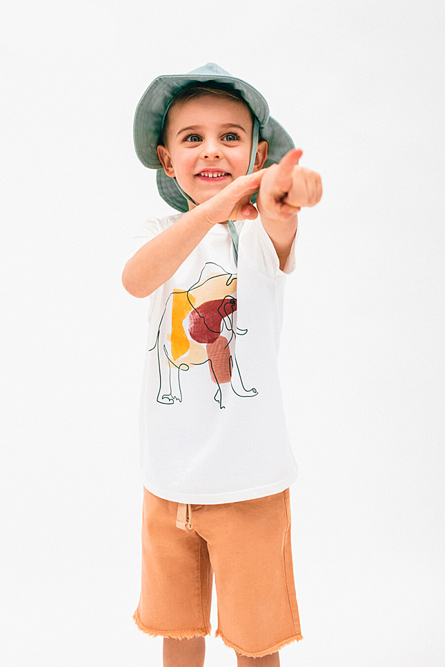 Футболка для мальчиков 5.10.15 668436 купить оптом от производителя. Совместная покупка детской одежды в OptMoyo