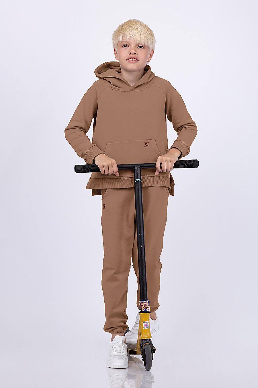 Худи для мальчиков EZANNA 682068 купить оптом от производителя. Совместная покупка детской одежды в OptMoyo
