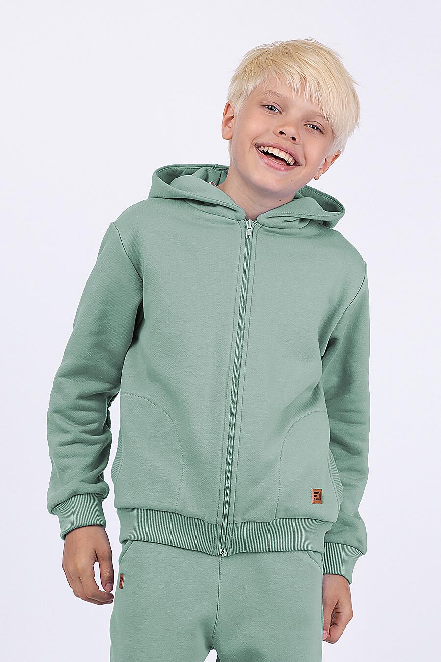 Толстовка для мальчиков EZANNA 682083 купить оптом от производителя. Совместная покупка детской одежды в OptMoyo