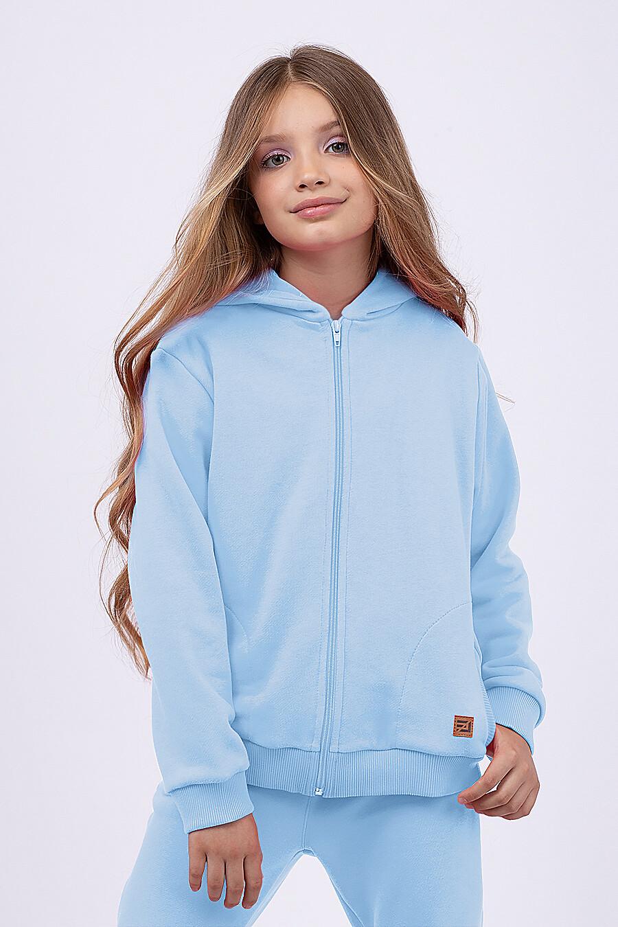 Толстовка для девочек EZANNA 682086 купить оптом от производителя. Совместная покупка детской одежды в OptMoyo