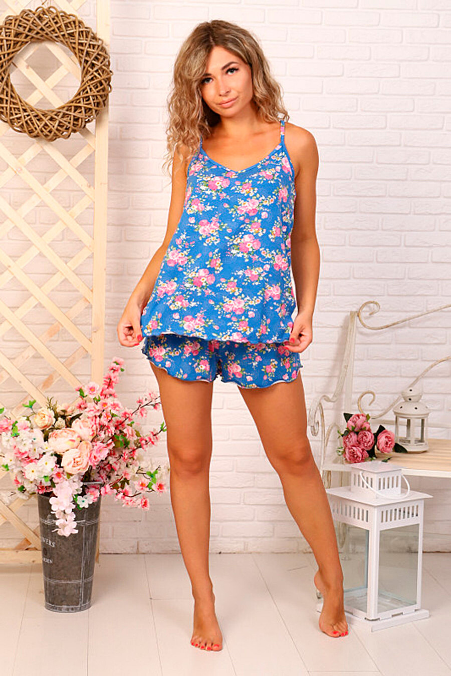Костюм (Шорты+Топ) для женщин SOFIYA37 682275 купить оптом от производителя. Совместная покупка женской одежды в OptMoyo