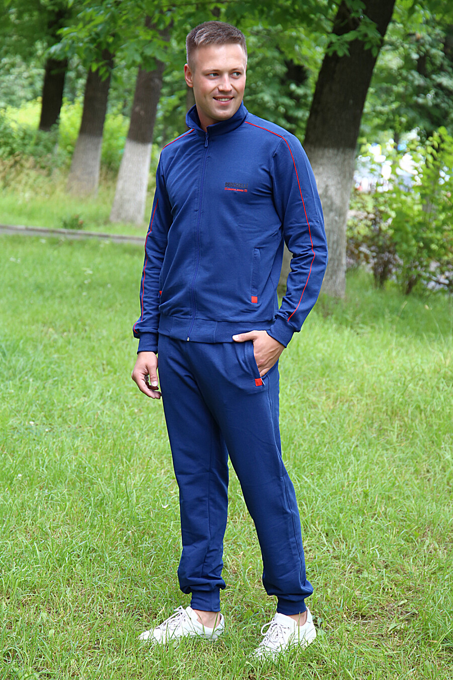Костюм 5939 для мужчин НАТАЛИ 682491 купить оптом от производителя. Совместная покупка мужской одежды в OptMoyo