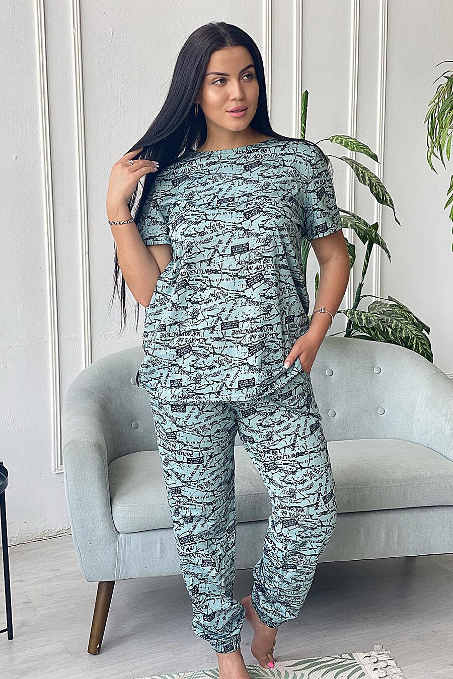 Брюки 9071 для женщин НАТАЛИ 682494 купить оптом от производителя. Совместная покупка женской одежды в OptMoyo