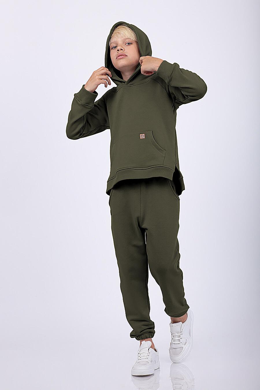 Костюм(Худи+Брюки) для мальчиков EZANNA 682542 купить оптом от производителя. Совместная покупка детской одежды в OptMoyo