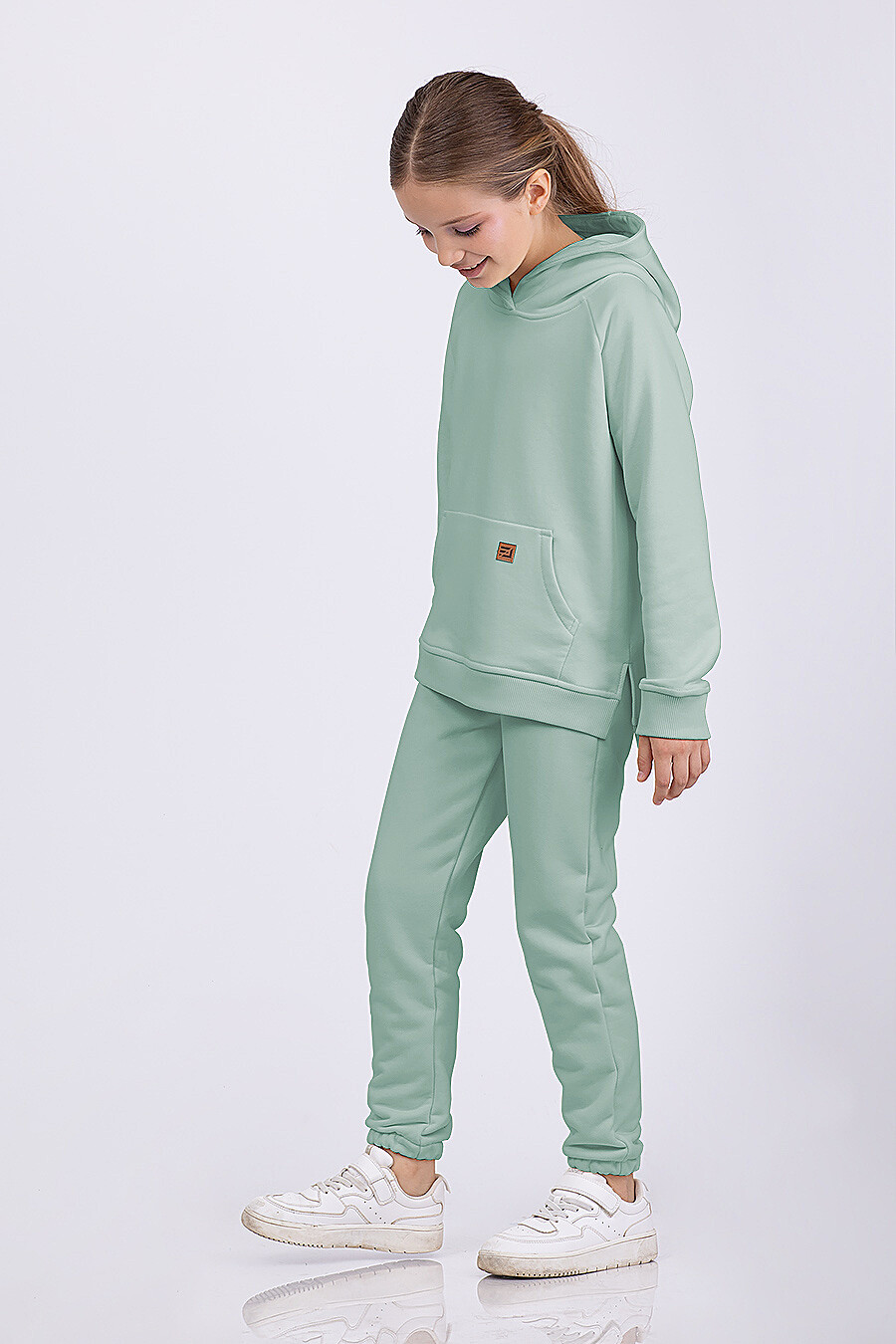 Брюки для девочек EZANNA 682653 купить оптом от производителя. Совместная покупка детской одежды в OptMoyo