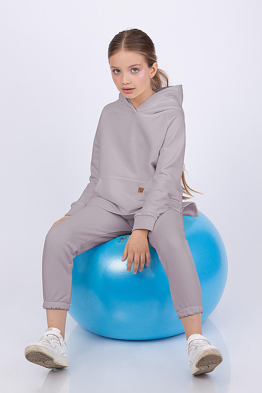 Брюки для девочек EZANNA 682686 купить оптом от производителя. Совместная покупка детской одежды в OptMoyo