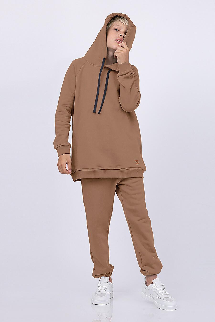 Костюм(Худи+Брюки) для мальчиков EZANNA 682695 купить оптом от производителя. Совместная покупка детской одежды в OptMoyo