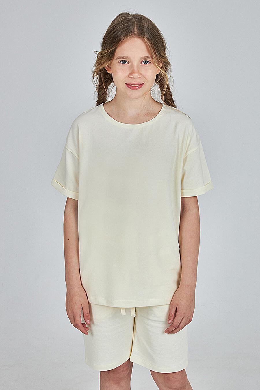 Футболка для девочек KOGANKIDS 682749 купить оптом от производителя. Совместная покупка детской одежды в OptMoyo