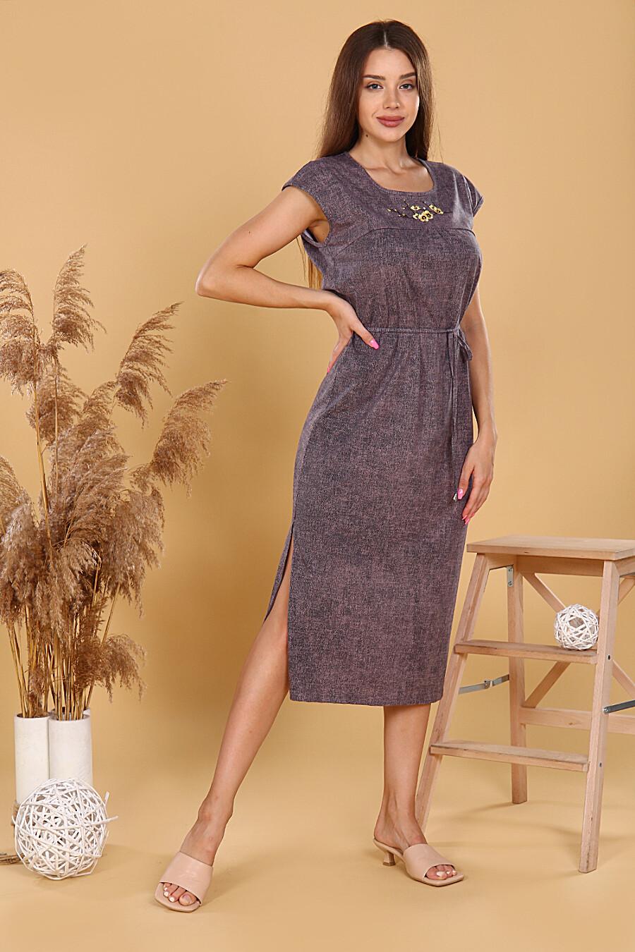 Платье Агератум для женщин НАТАЛИ 682839 купить оптом от производителя. Совместная покупка женской одежды в OptMoyo
