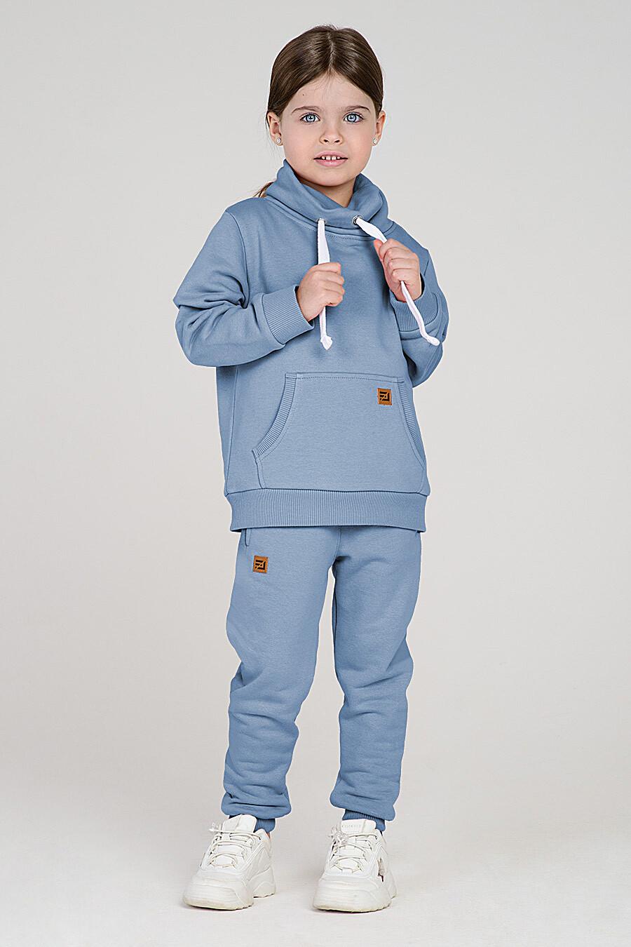 Худи для девочек EZANNA 699957 купить оптом от производителя. Совместная покупка детской одежды в OptMoyo