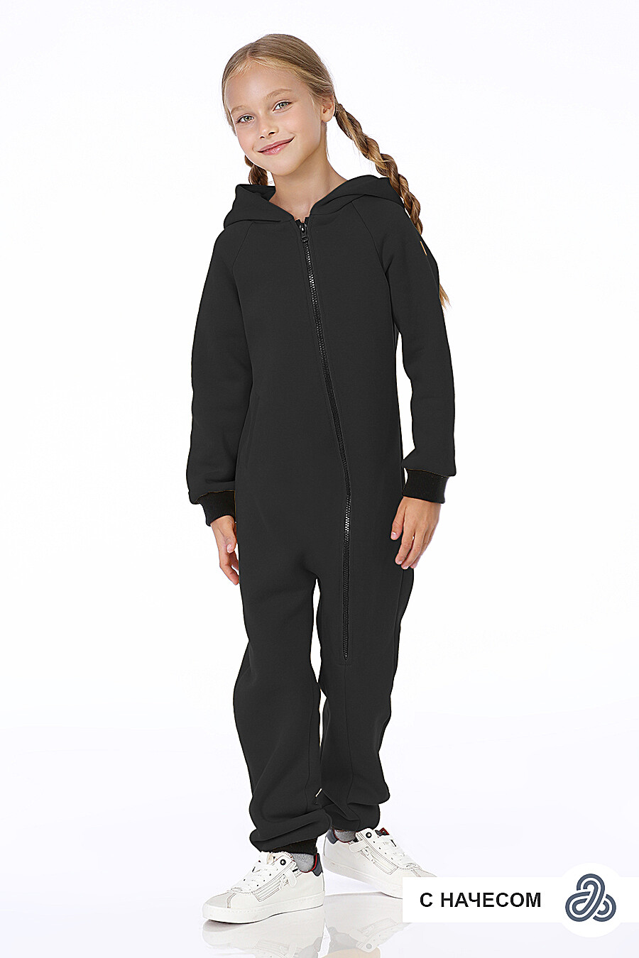 Комбинезон для девочек EZANNA 699996 купить оптом от производителя. Совместная покупка детской одежды в OptMoyo