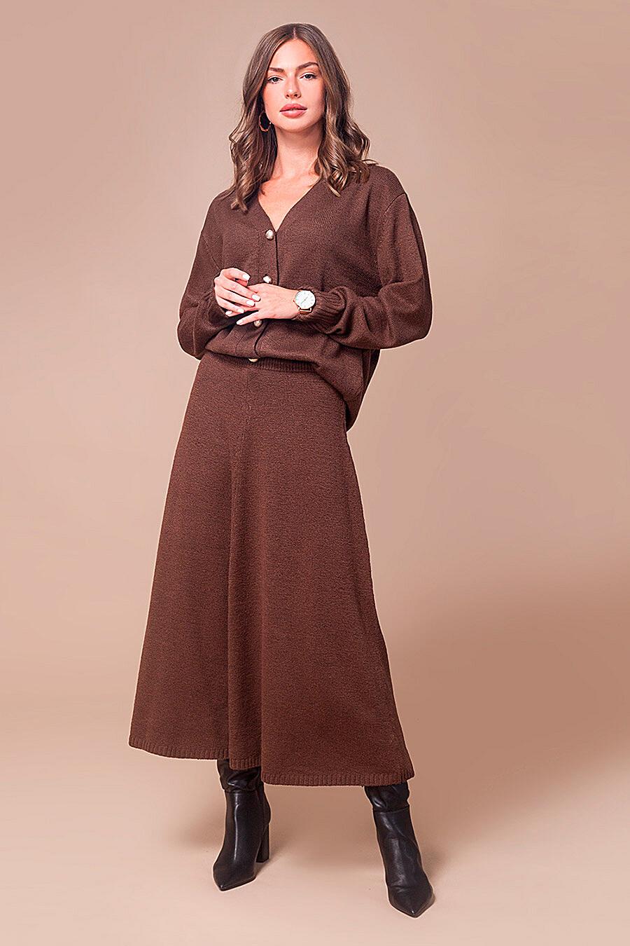 Юбка для женщин VILATTE 700248 купить оптом от производителя. Совместная покупка женской одежды в OptMoyo