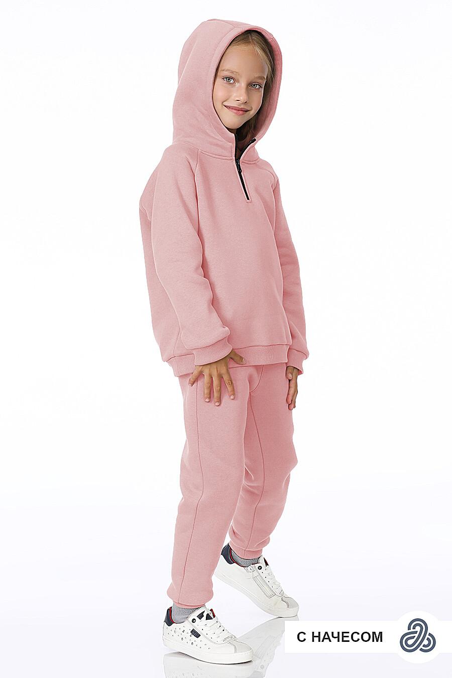 Костюм(Худи+Брюки) для девочек EZANNA 700329 купить оптом от производителя. Совместная покупка детской одежды в OptMoyo