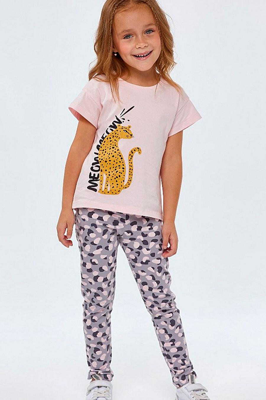 Брюки для девочек UMKA 700395 купить оптом от производителя. Совместная покупка детской одежды в OptMoyo