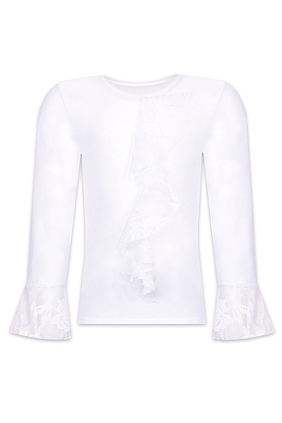 Лонгслив для девочек АПРЕЛЬ 700632 купить оптом от производителя. Совместная покупка детской одежды в OptMoyo