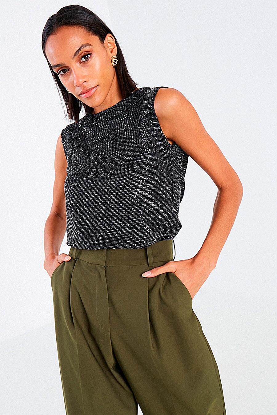 Топ для женщин VITTORIA VICCI 700911 купить оптом от производителя. Совместная покупка женской одежды в OptMoyo