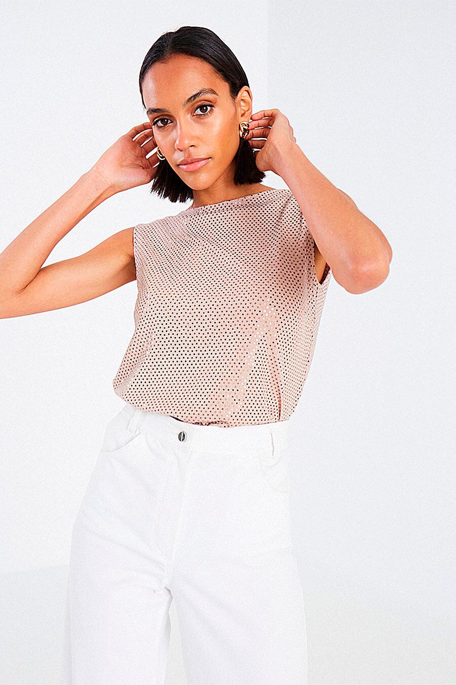 Топ для женщин VITTORIA VICCI 700914 купить оптом от производителя. Совместная покупка женской одежды в OptMoyo